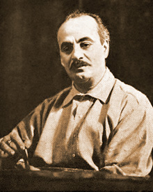 Gibran near the end of his life